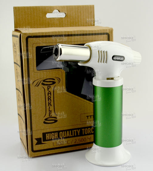 Sparkles TT-102 Torch - Green - SmokeZone 420