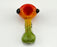 "3"" Flat Mouth Full Rasta Color Hand Pipe - SmokeZone 420"