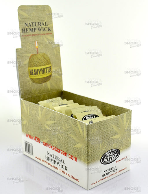 Natural Hemp Wick Box 60ct - SmokeZone 420