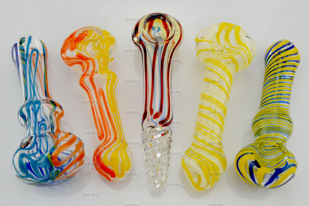 4 Inch Assorted colors Inside out colors - SmokeZone 420