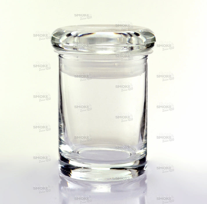 "Air Tight Glass Jar 2""x3"" - SmokeZone 420"