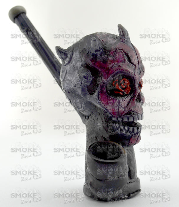 Dark Rose Wood Pipe - SmokeZone 420