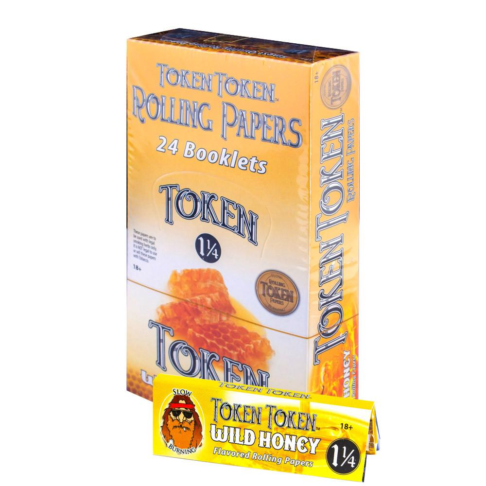 Toke Token 1 1/4 Flavor Paper (Wild Honey) - SmokeZone 420