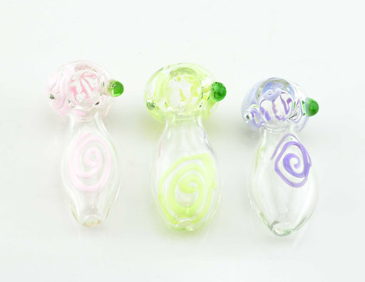 "3"" Slime Color Art Hand Pipe - SmokeZone 420"