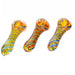 "4"" Dark Fumed Hammer Twisted Art Hand Pipe - SmokeZone 420"