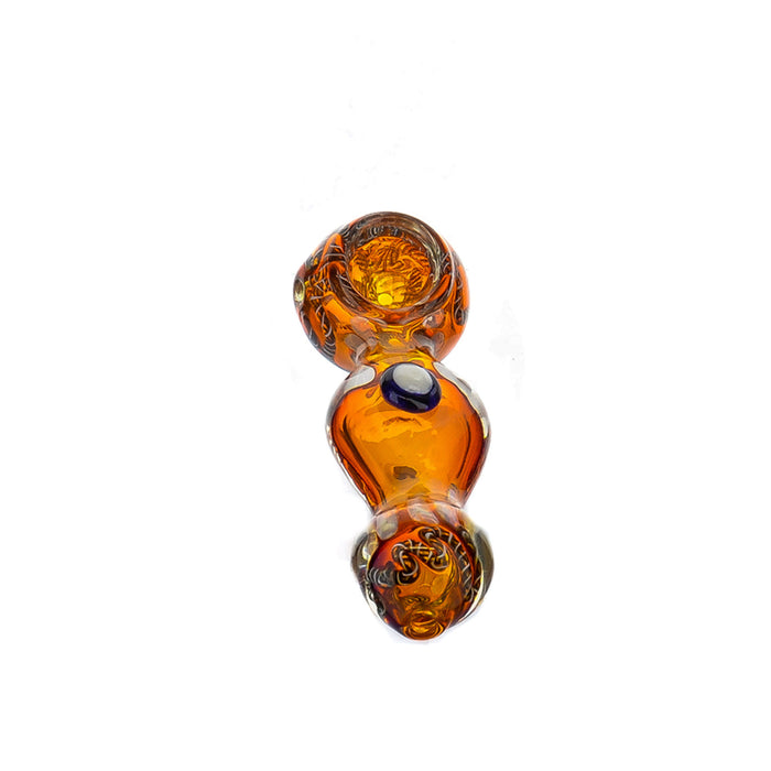 "5"" Assorted Fancy Design Fumed Hand Pipes - SmokeZone 420"