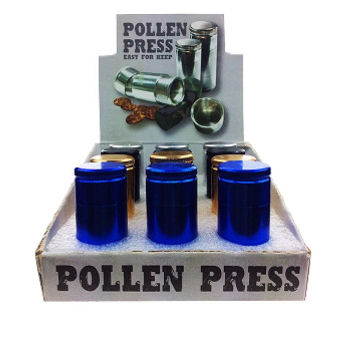 "Pollen Press 2.5"" Display - SmokeZone 420"