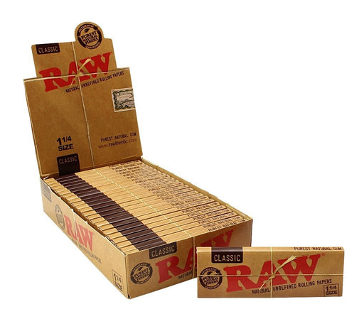 RAW Classic 1¼ Rolling Paper - SmokeZone 420