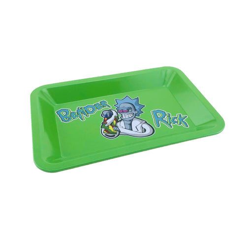"R & M Green Rolling Tray 7""x5"" - SmokeZone 420"
