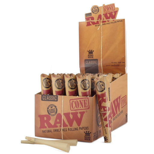 RAW Classic King Size Cones - SmokeZone 420