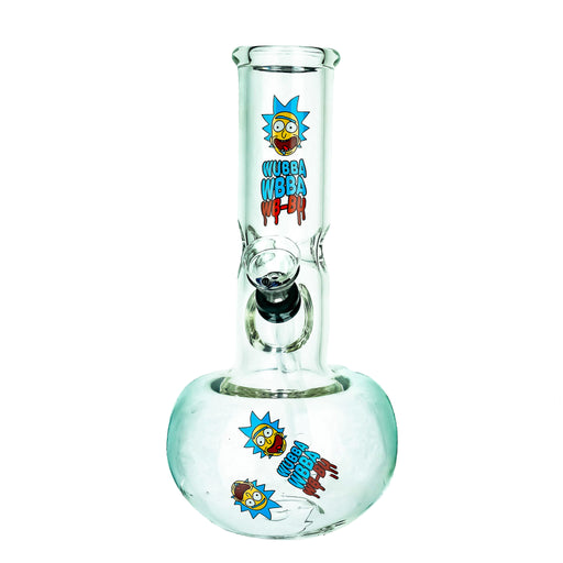 "8"" Cartoon Decal Ball Base Slide Water Pipe - SmokeZone 420"