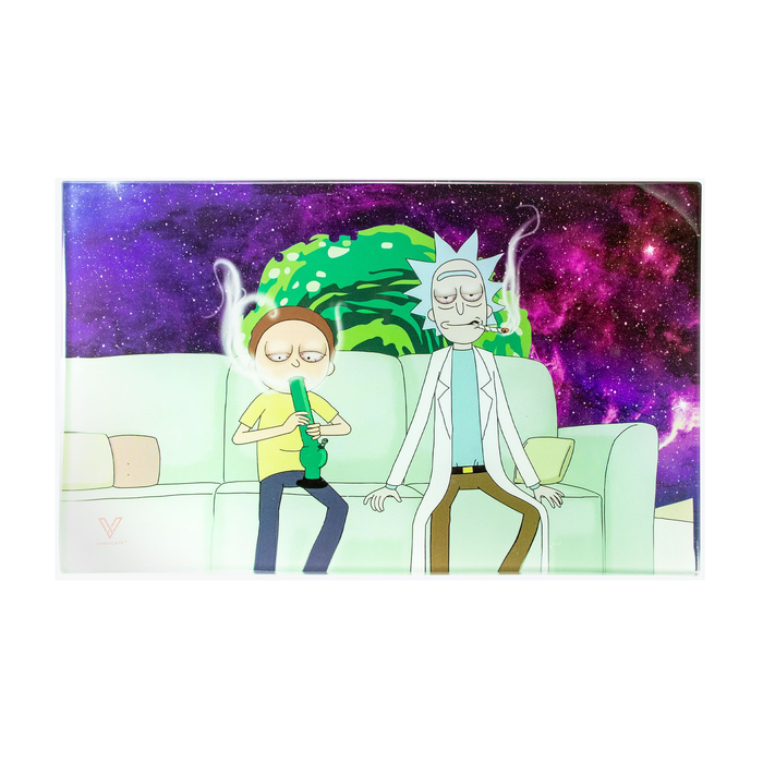 R & M Couch Lock Glass Tray - SmokeZone 420