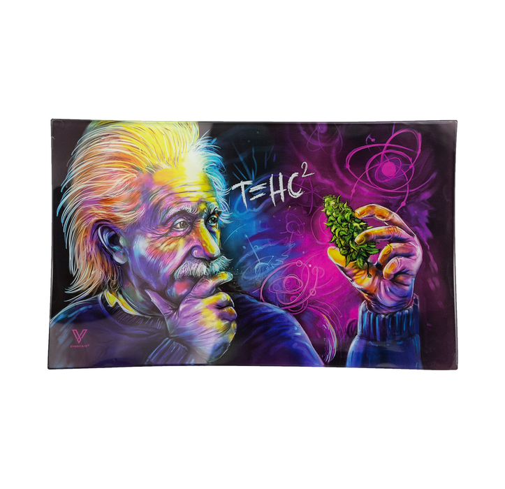 T=HC2 Einstein Glass Tray - SmokeZone 420
