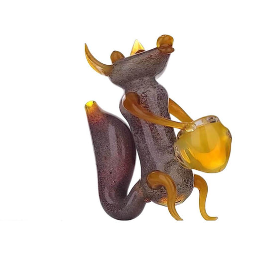 Heady Honeypot Squirrel Pipe - SmokeZone 420