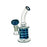 "6"" Mini Clear & Color Dab Rig - SmokeZone 420"