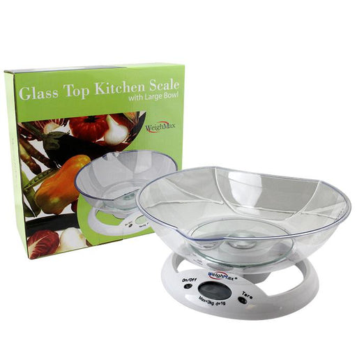 WeighMax W-5800 Glass Top Kitchen Scale - SmokeZone 420