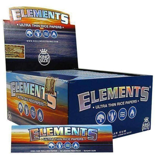 Elements King Size Rolling Papers - SmokeZone 420