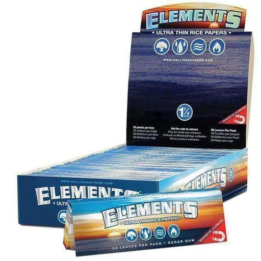 "Elements Magnetic 1 1/4"" Rolling Paper - SmokeZone 420"