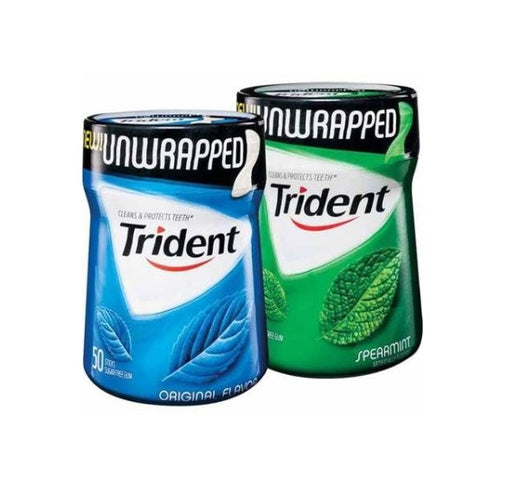 Trident Gum Bottle Safe Can - SmokeZone 420