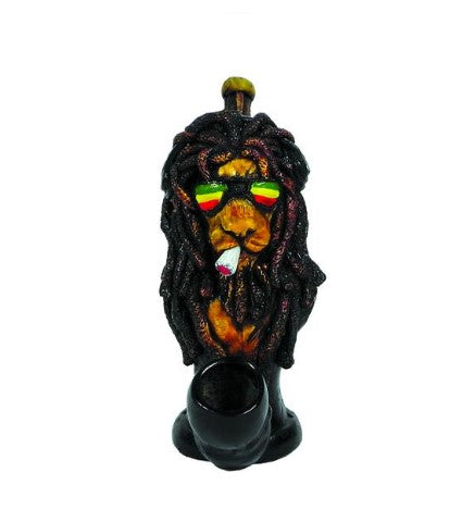 Rasta Lion Pipe - SmokeZone 420