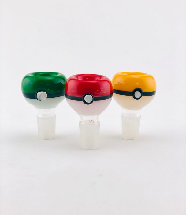 14mm Pokeball Style Bowls - SmokeZone 420