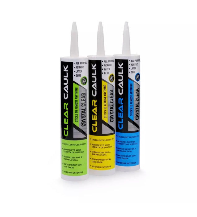 Clear Caulk Stash Can - SmokeZone 420