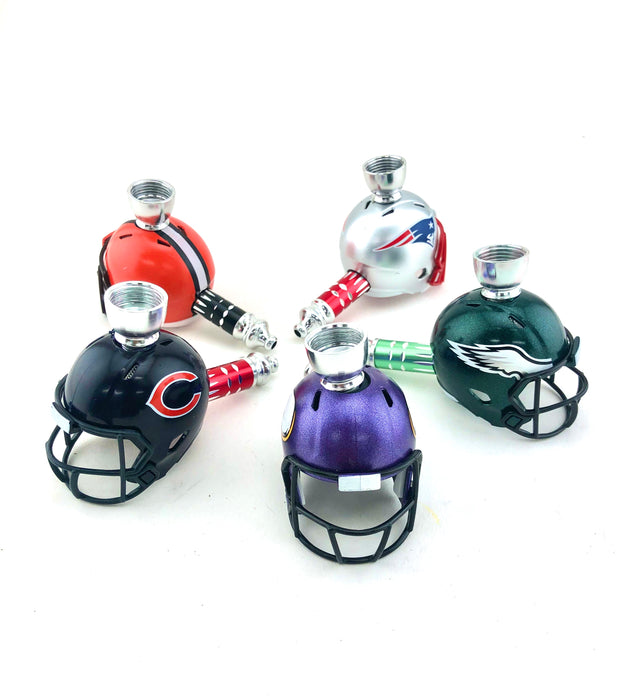 "3.5"" Football Helmet Metal Pipe - SmokeZone 420"