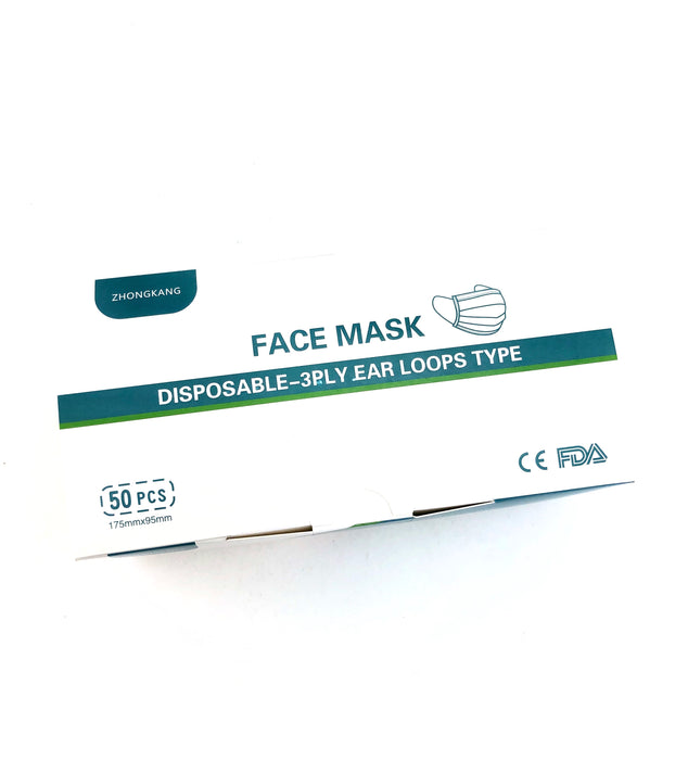 Disposable Surgical Face Masks - SmokeZone 420