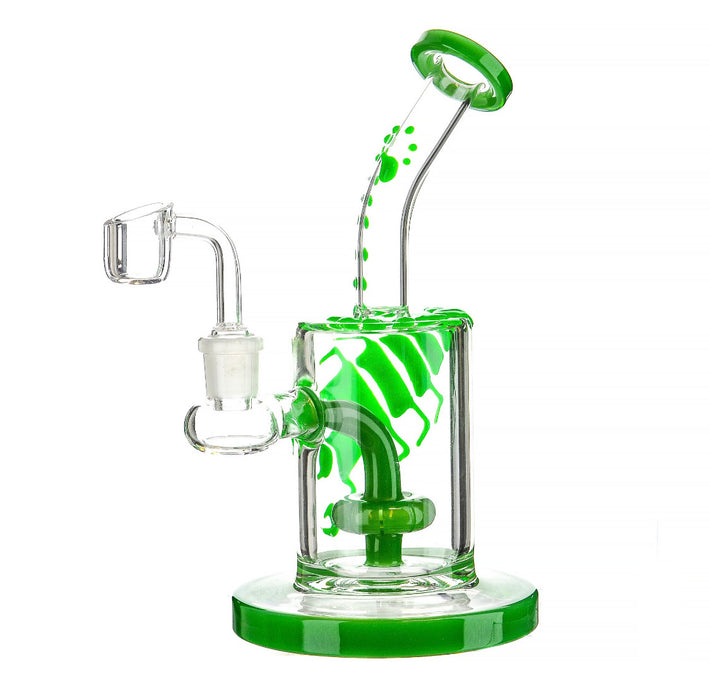 "8"" Scorpion Bent Mouth Dab Rig - SmokeZone 420"