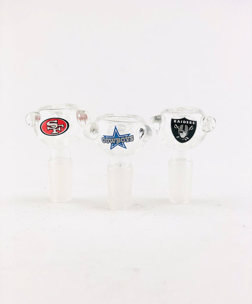 14mm Sports Team Clear Bowls - SmokeZone 420