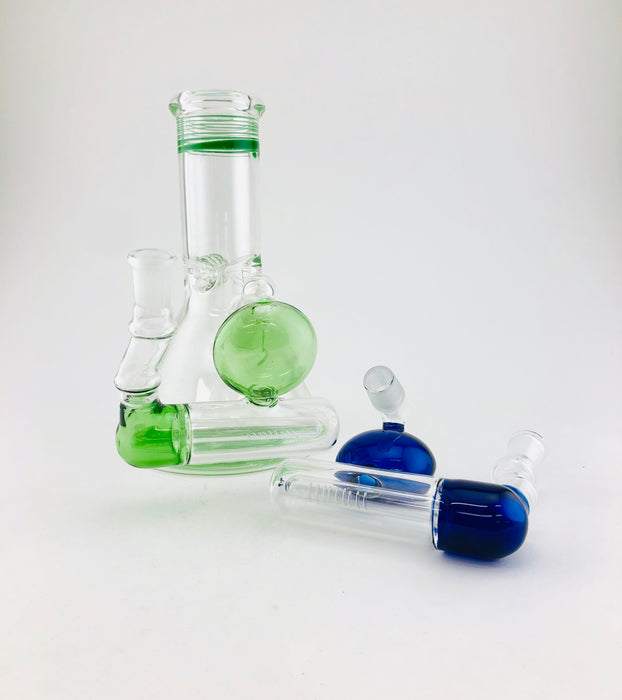 14/18mm Diffused Inline Ash Catcher - SmokeZone 420