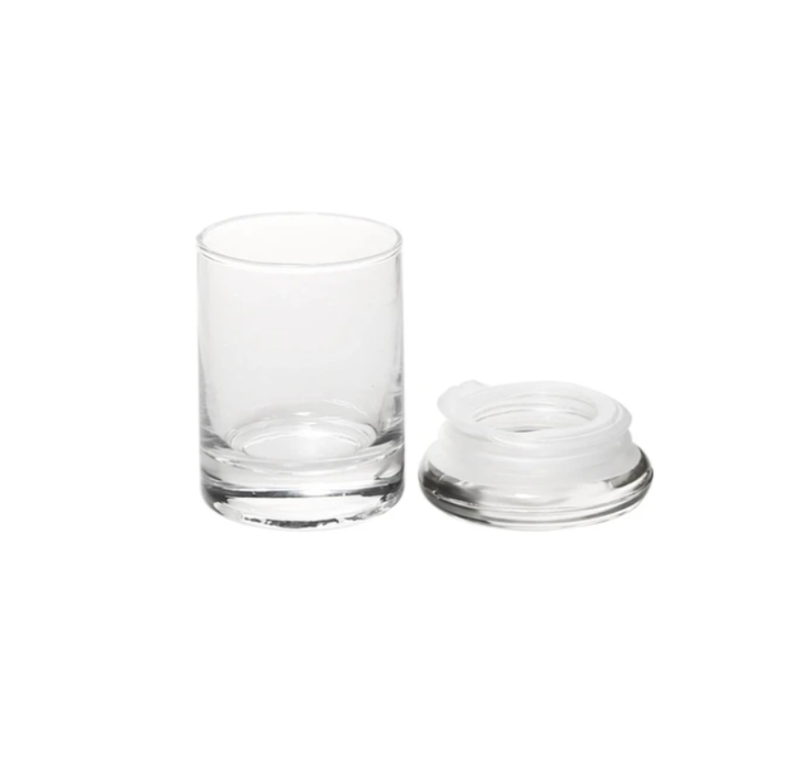 Air Tight Rubber Seal Glass Jars - SmokeZone 420