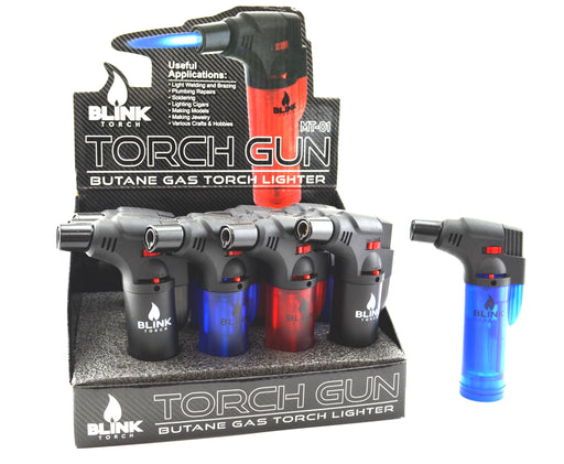 Blink MT-01 Torch Gun Frosted Colors (12 Per Box) - SmokeZone 420
