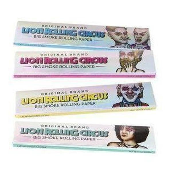 Lion Rolling Circus 110mm Big Smoke Ultra Thin Rolling Paper - SmokeZone 420
