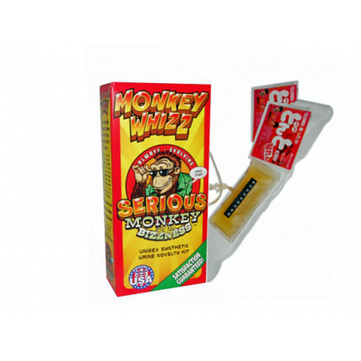 Monkey Whizz Urine Novelty Kit - SmokeZone 420
