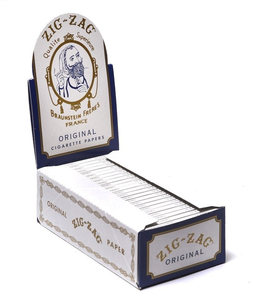 Zig-Zag Original Single Wide Rolling Paper - SmokeZone 420