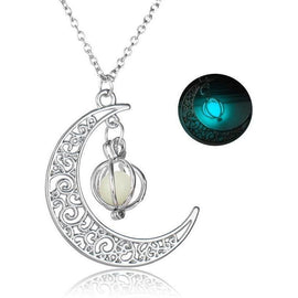 Glow in the dark Moonlight Ketting-Bright & Blossom