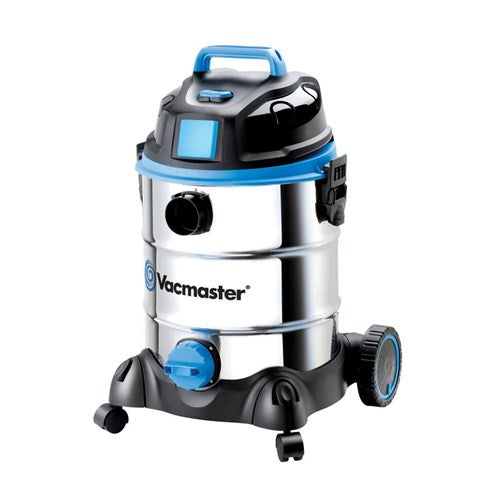 Vacmaster VMVQ1530SWDC VACUUM WET / DRY 30 LTR 1500W MOTOR STAINLESS TANK