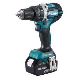 Makita DHP484RFE 18V Mobile Brushless Heavy Duty Compact Hammer Driver Drill Kit