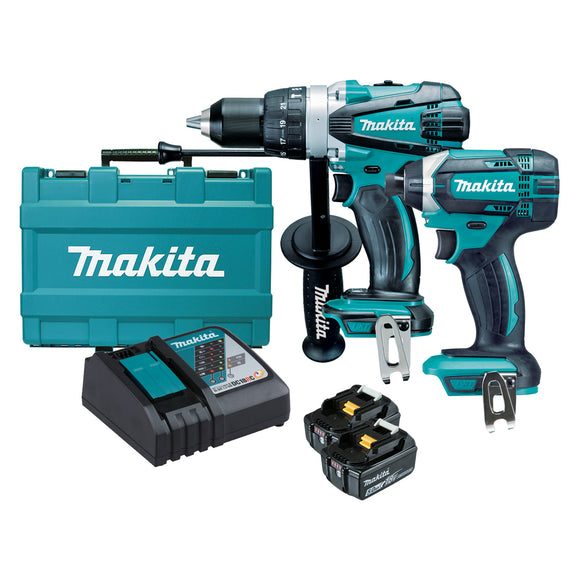 Makita DLX2145T 18V Mobile 2 Piece Combo Kit