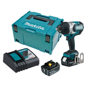"Makita DTW1001RTJ 18V Mobile Brushless 3/4"" Impact Wrench"