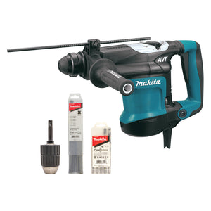 Makita HR3210CX1 32mm SDS Plus Rotary Hammer