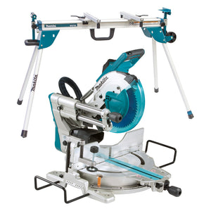 "Makita LS1019X 260mm (10-1/4"") Slide Compound Saw + Mitre Saw Stand"