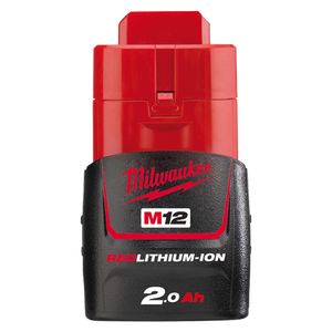 Milwaukee M12B2 M12 2.0Ah REDLITHIUM-ION™ Compact Battery Pack