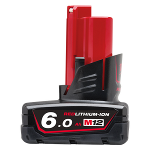 Milwaukee M12B6 M12 6.0Ah REDLITHIUM-ION™ Battery