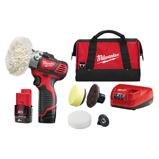 Milwaukee M12BPS-202B M12™ Variable Speed Polisher/Sander - 2.0Ah Kit