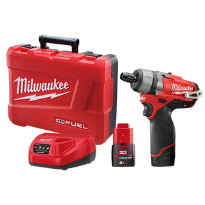 "Milwaukee M12CD-302C M12 FUEL™ 1/4"" Hex 2-Speed Screwdriver 3.0Ah Kit"