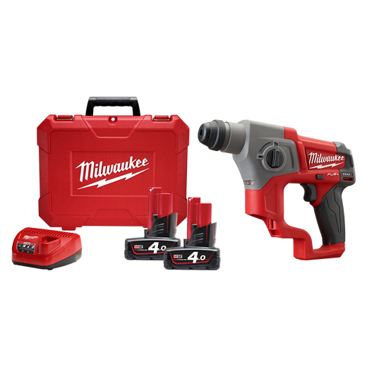 Milwaukee M12CH-402C M12 FUEL™ 16mm SDS Plus Rotary Hammer Kit