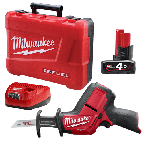 Milwaukee M12CHZ-401C M12 FUEL™ HACKZALL® Recip Saw Kit
