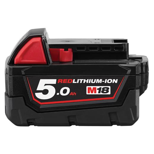 Milwaukee M18B5 M18™ 5.0AH REDLITHIUM-ION™ Battery